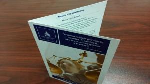 bi-fold brochure printing