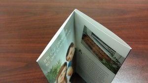 double-gate brochure printing