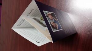 roll-fold brochure printing