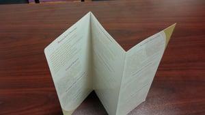 z-fold brochure printing
