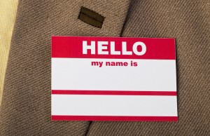 Hello my name is.